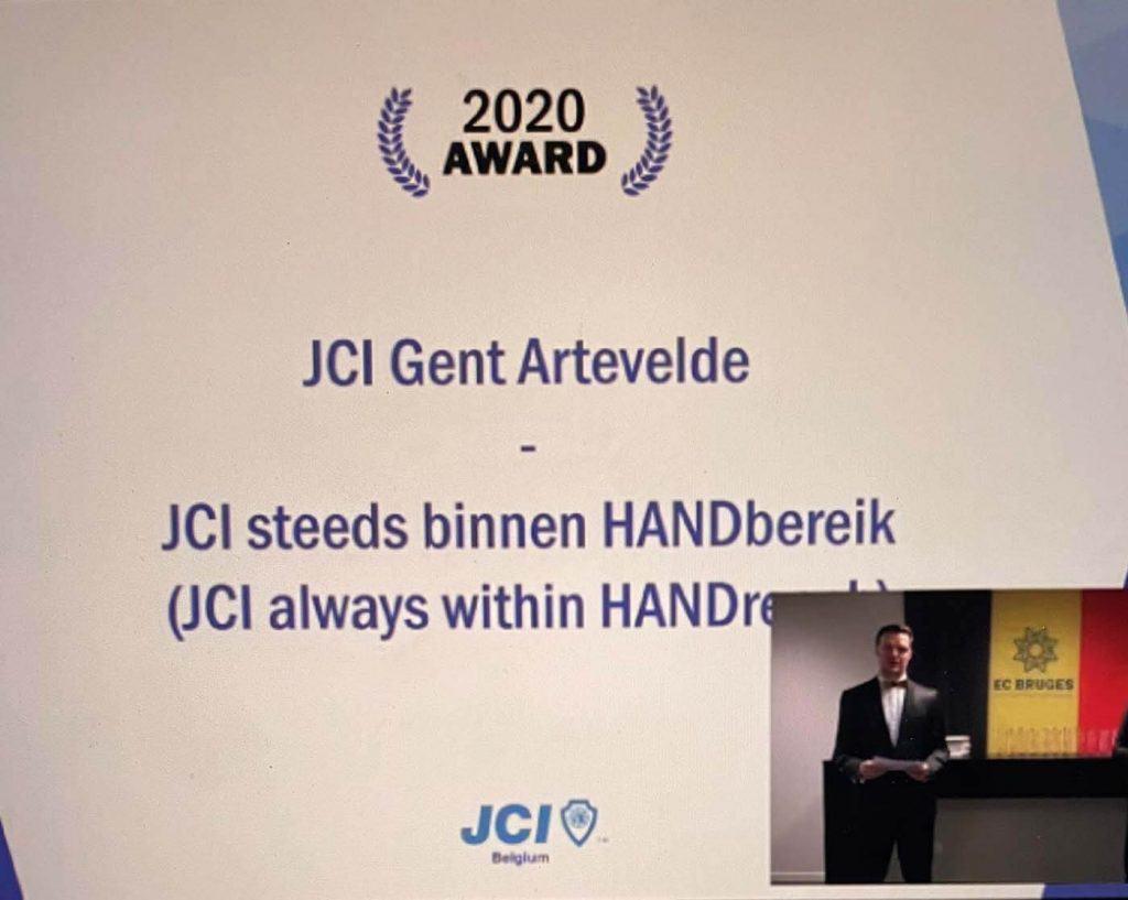 JCI Belgiium Awards 2020