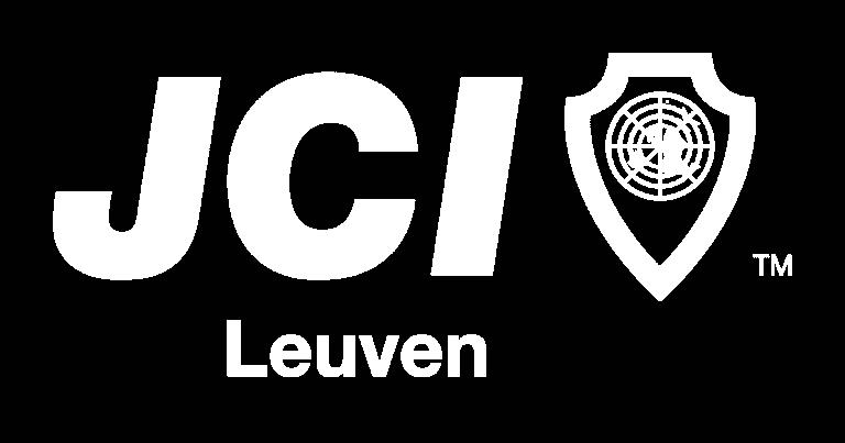 JCI Leuven logo wit transparant
