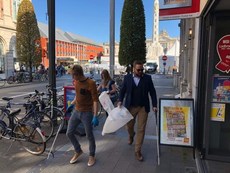 World Cleanup Day 2019 JCI Leuven
